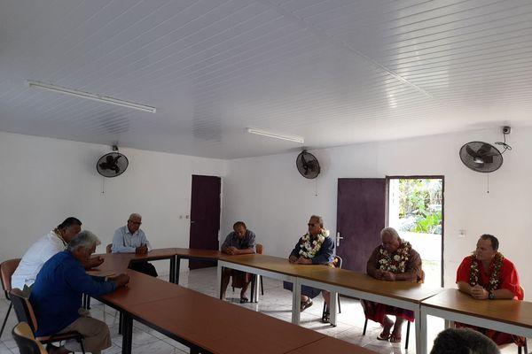 Visite président CCIMA Futuna
