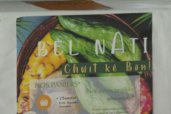 Bel Nati nouvelle coopérative agricole de Guyane