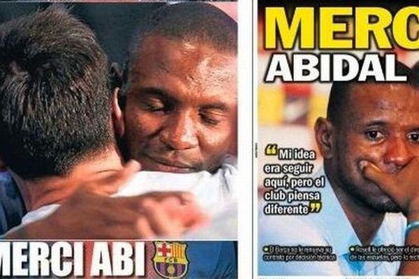presse espagnole Abidal