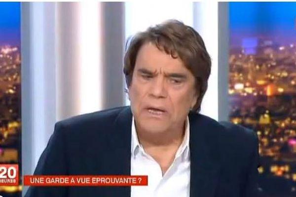 Bernard Tapie au 20h de France2