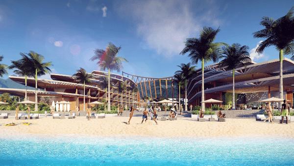 Hôtel n°2 - village tahitien