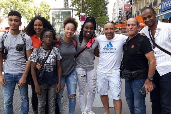 Les judokas guyanais réunis à Paris 2017