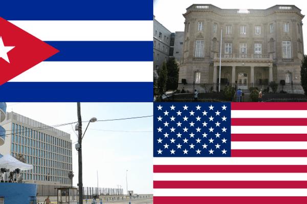 Ambassade de Cuba à Washington / Ambassade des Etats-Unis à La Havane