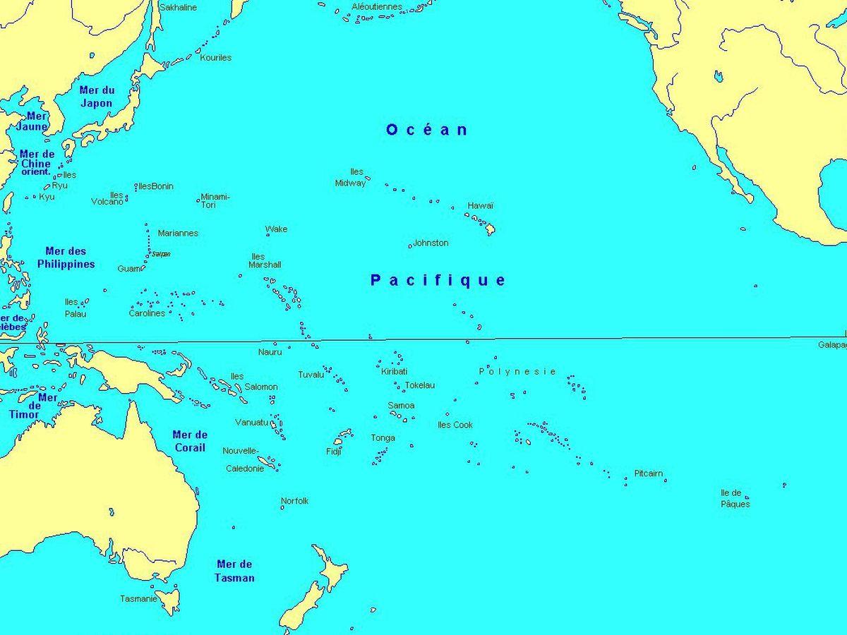 tahiti carte du monde