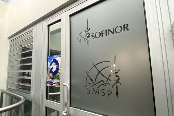 Les sièges de la SMSP et de la Sofinor à Nouméa.  2021