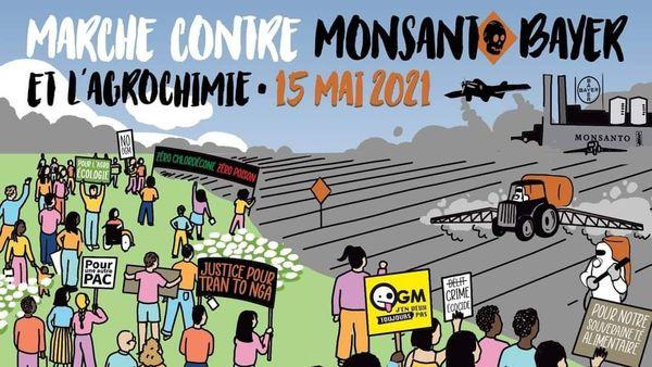 Marche mondiale contre Mosanto-Bayer