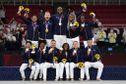 L'équipe de France emmenée par Teddy Riner décroche l'or en épreuve mixte au judo