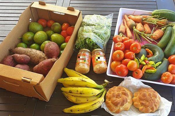 Panier fruits légumes groupe Facebook Loka-lité