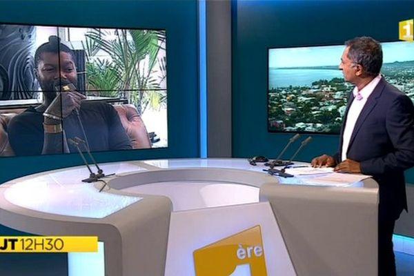 JT 12H30 : itw de Djibril Cissé