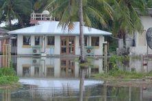 La montée des eaux à Tuvalu