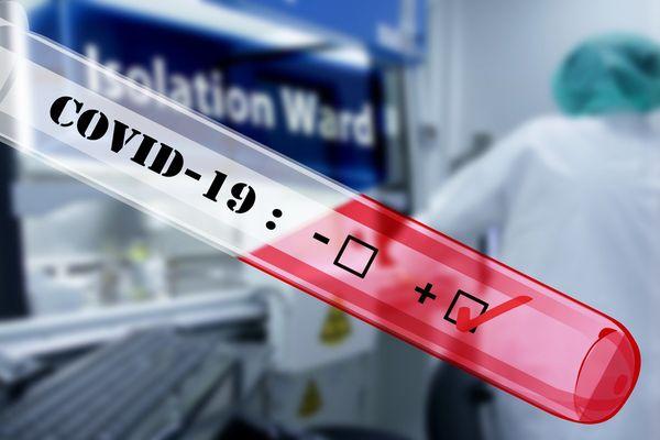 Coronavirus test positif