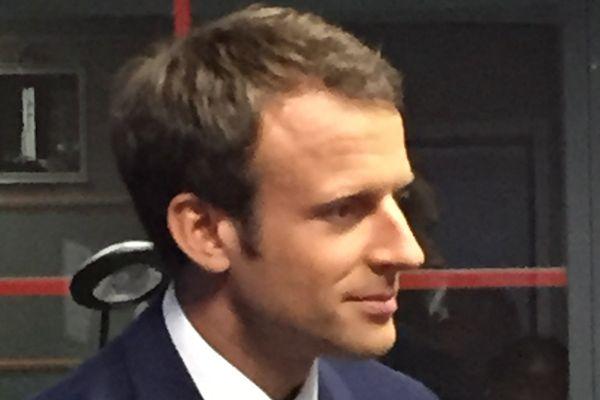 Emmanuel Macron au CSG