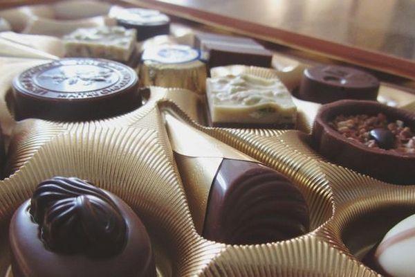 Chocolats truqués