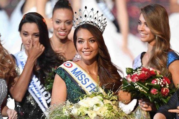 Vaimalama Chavez, miss Tahiti, a été élue Miss France 2019