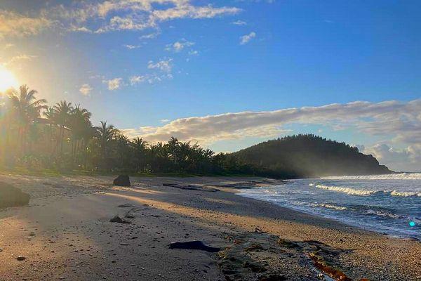 Plage de Grand-Anse à Petite-île