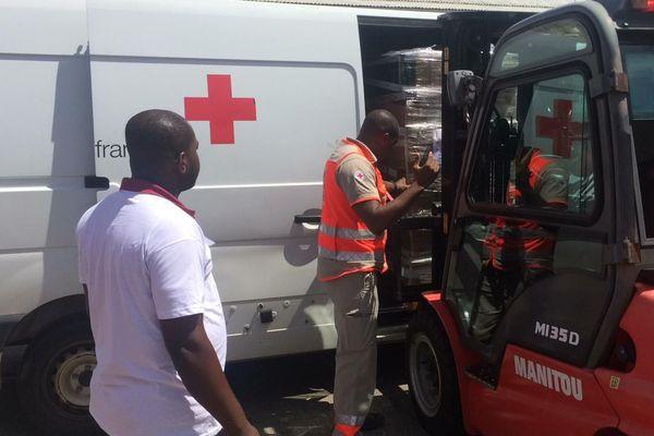 La Croix rouge au cœur de l'aide humanitaire en Guyane