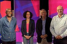 De gauche à droite : Emmanuel Gordien, Karine Zabulon, Alain Fischer et Damien Mascret