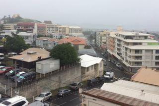 Post Cyclone Donna. Nouméa pluie
