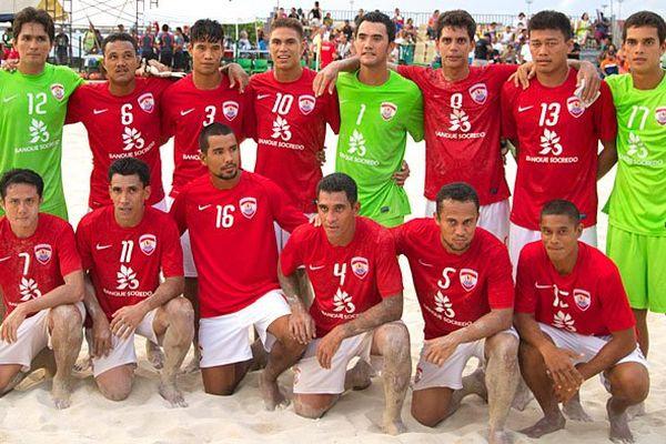 Equipe Tahiti Tikitoa Beachsoccer