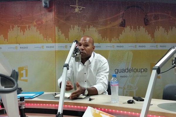 Olivier Serva, vice-président de la Région Guadeloupe, invité de Politique Première
