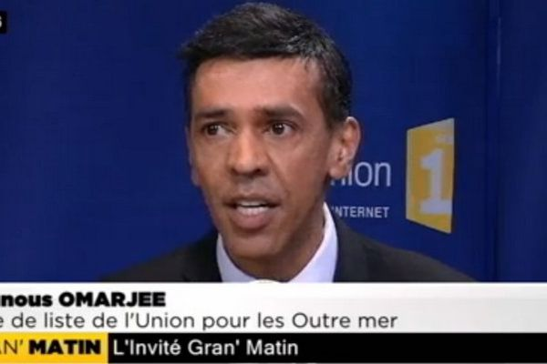 Younouss Omarjee, candidat de la liste l'union pour les Outremer, invité de Gran'Matin