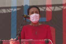 Huguette Bello présente sa liste de colistiers pour les régionales 2021