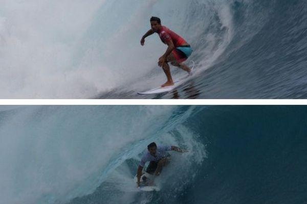 Tahiti Pro : Michel Bourez et Tikanui Smith au round 3