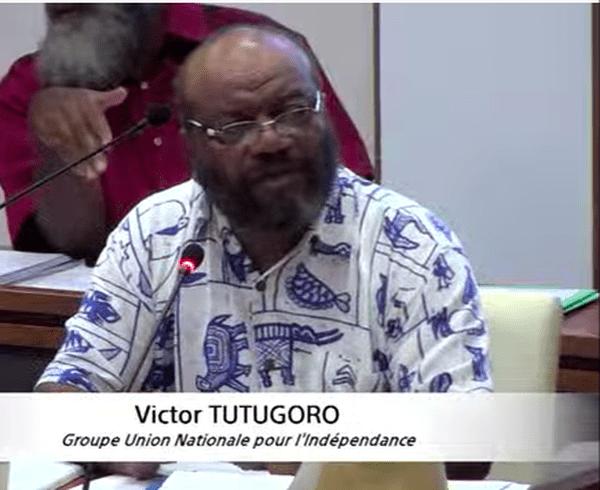 Coronavirus, séance de la commission permanente du Congrès, 11 avril 2020, Victor Tutugoro