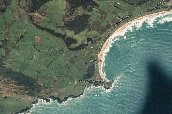 Curio Bay NZ