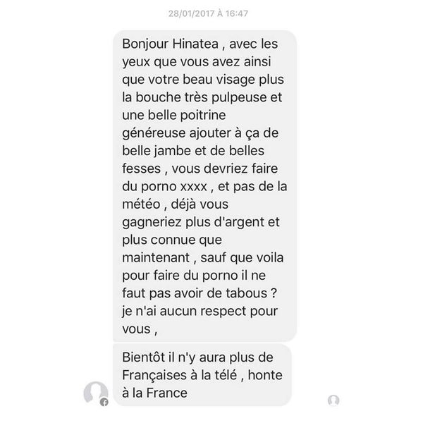 messages Hinatea Chatal