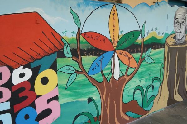 Fresque de Kourou
