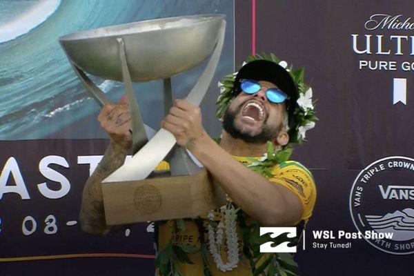 Italo Ferreira sacré champion du monde de surf 2019 !