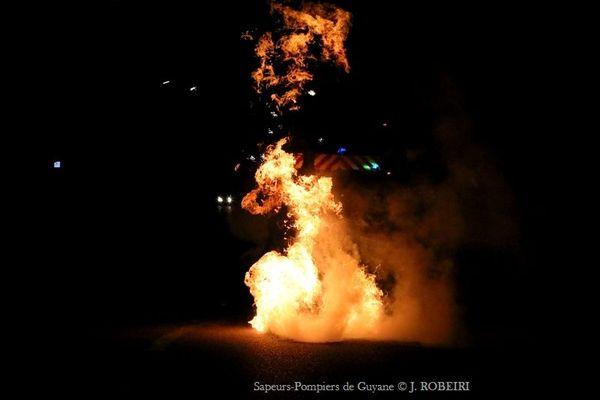 Nuit de saccage à Cayenne 11 septembre 201