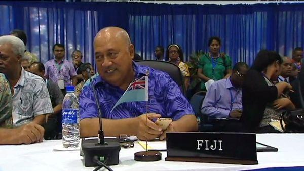 Forum des Iles du Pacifique. Fidji