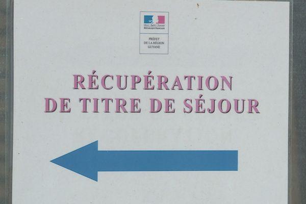 service immigration préfecture