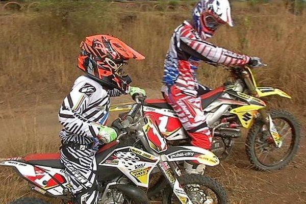 Moto-Cross : Xavier Cazal et Pascal Dorseuil