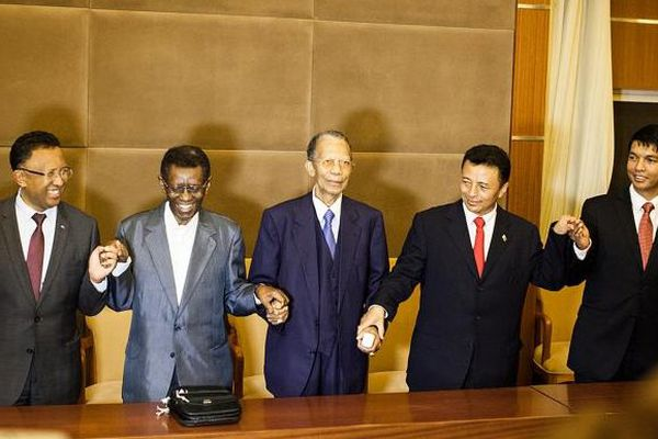Réunion des présidents malgaches