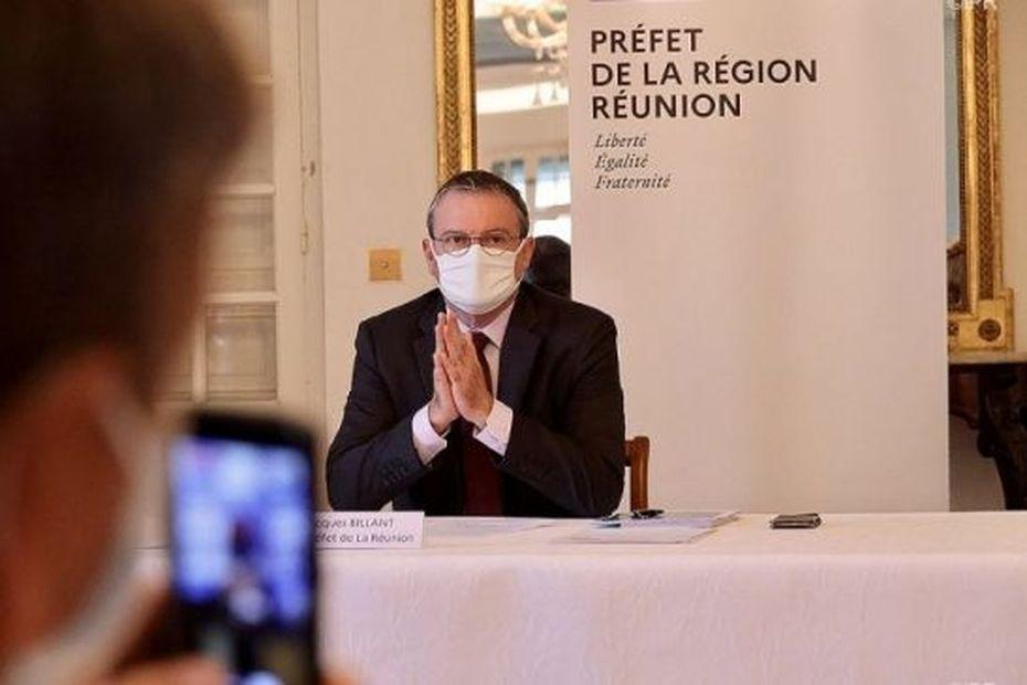 Covid-19 : suivez en direct la conférence de presse du préfet de La Réunion - Réunion la 1ère