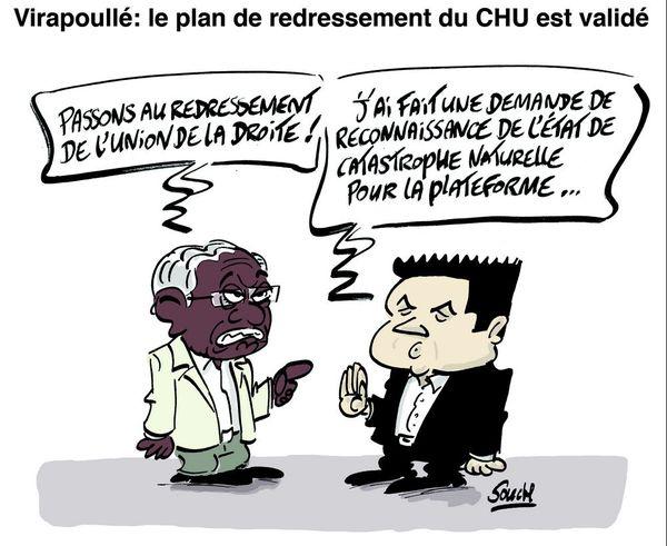 Le dessin de Souch : CHU