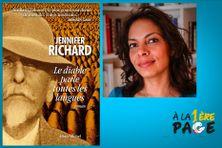"""Jennifer Richard présente son dernier livre """"Le diable parle toutes les langues"""""""