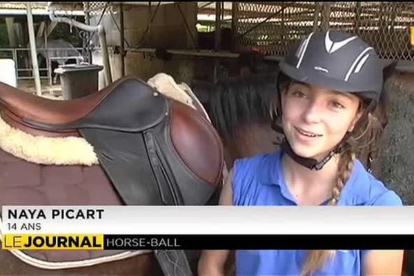 Sept cadettes sélectionnées pour les championnats de France de horse ball