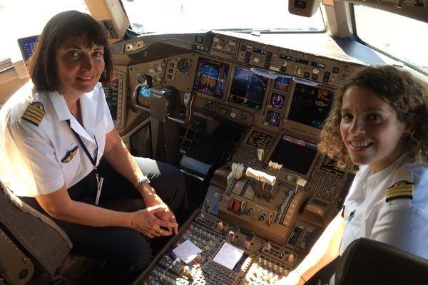 commandant de bord Air France Femme