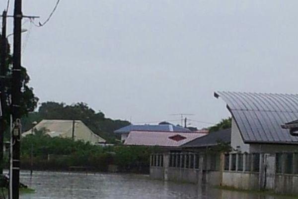 Inondations à Cayenne