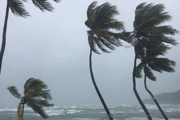 Passage de l'ouragan Maria