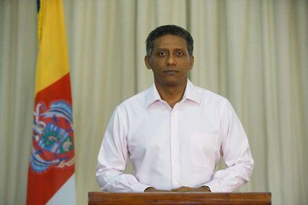 Président de la République  des Seychelles, Danny Faure