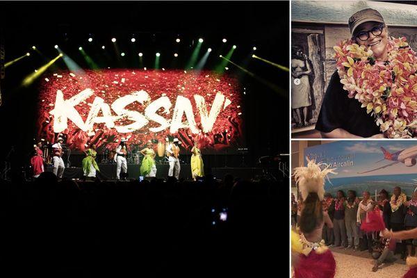 Kassav' est arrivé à Tahiti !