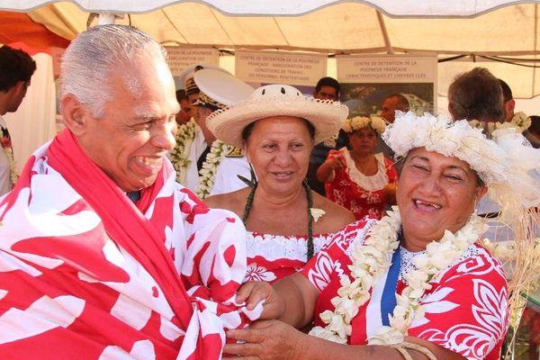 Victorin Lurel à Tahiti