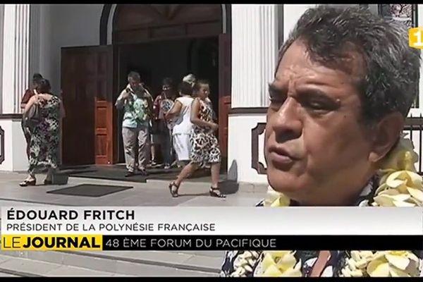 """LA POLYNESIE """"FULL MEMBER"""" : Fritch à la table des « Grands » du Pacifique"""