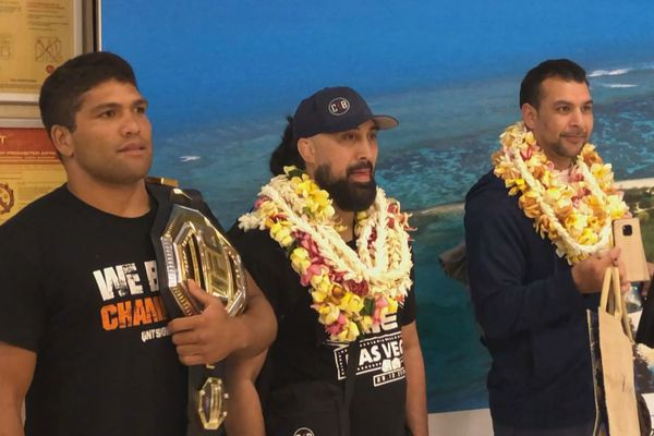 les stars du MMA à tahiti
