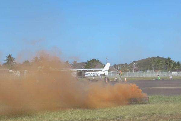 Le plan ORSEC en Polynésie a été déclenché à l'occasion d'un exercice grandeur nature mené mardi matin à l'aéroport de Faaa.